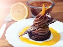 efterrätt apelsin choklad