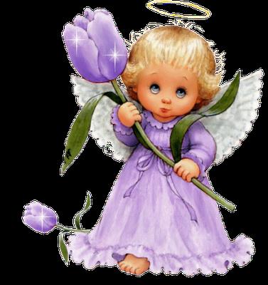 Blue Baby Angels Background Erica Hallback