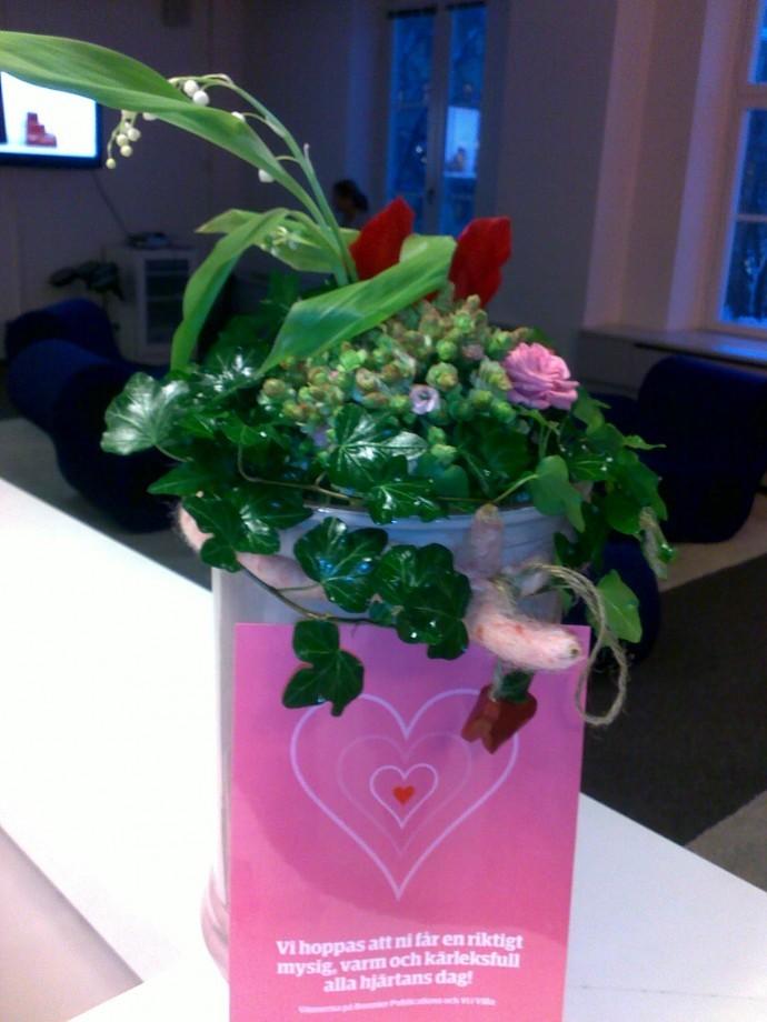 Dating Valentine vykort