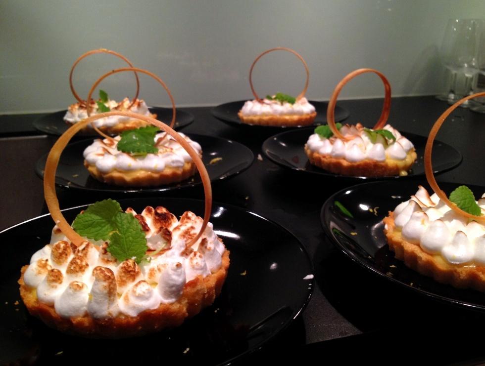 italiensk maräng dessert