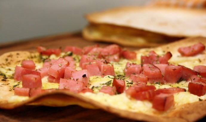 Skinkpizza