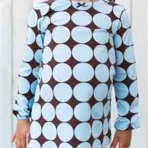 big dots tunic