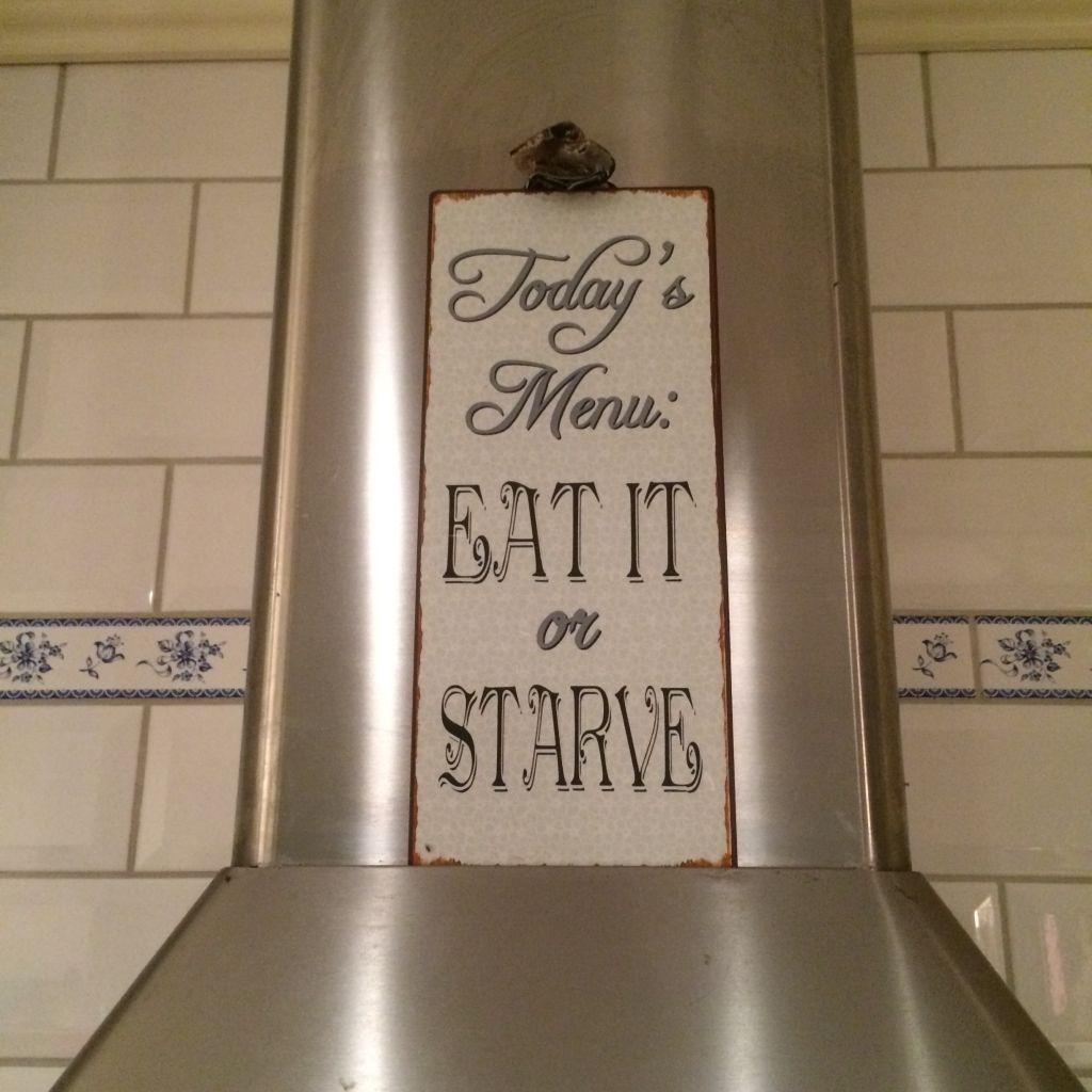 Todays Meny Eat It Or Starve Familjen Annorlunda