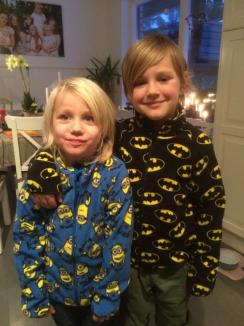 fleece batman minion