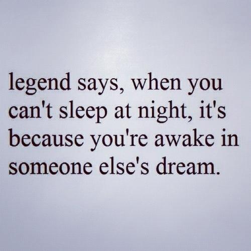 svårt att sova på natten