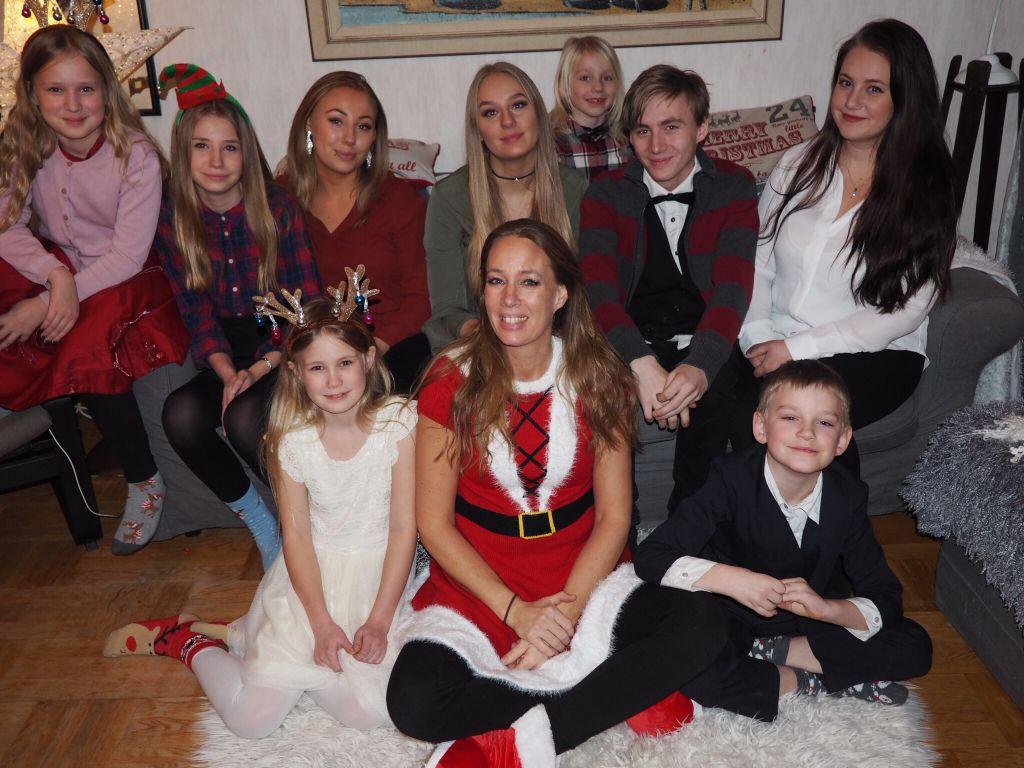 god jul från familjen wetterholm – familjen annorlunda