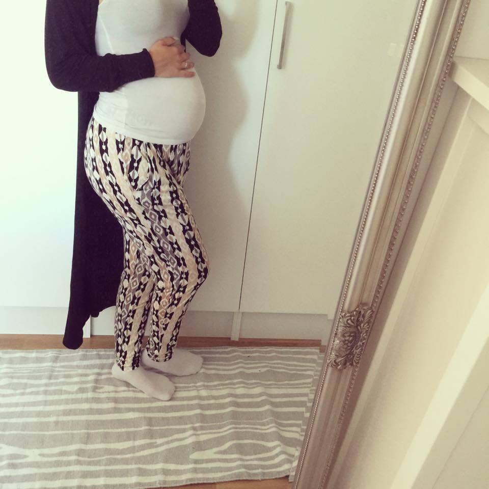 sköna byxor gravid