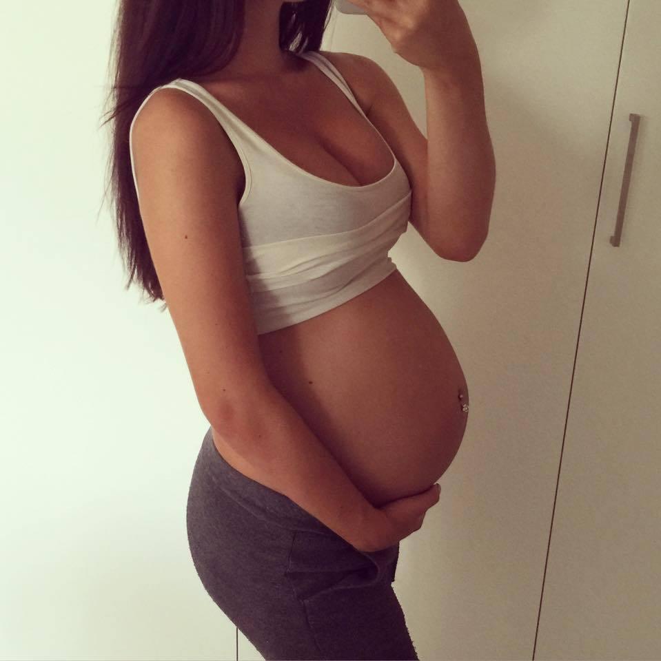 Gravid I Vecka 35 Gabriella Joss