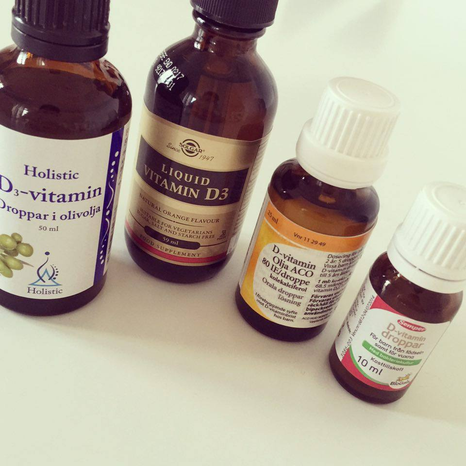 d vitamin droppar dosering vuxna