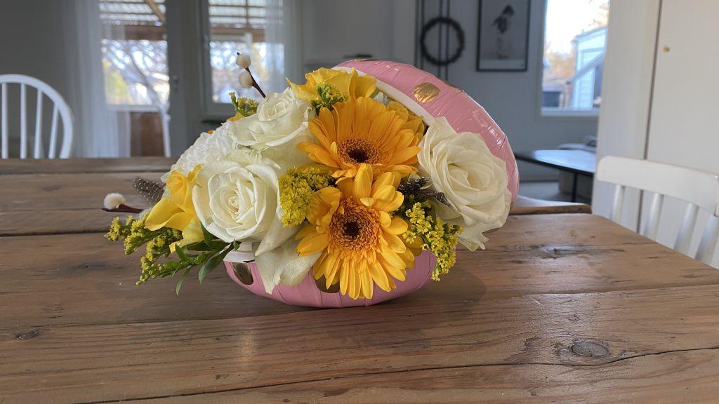 Påskdekoration blommor