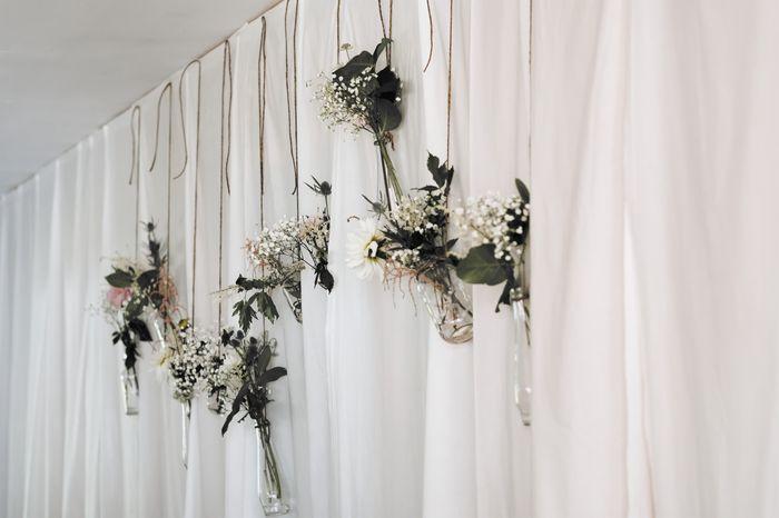 blommor till brudparet