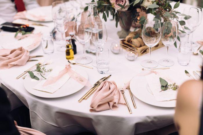 Bildresultat för dukning bröllop