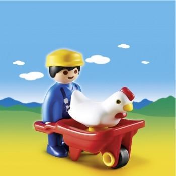 6793_Farmer with wheelbarrow_scenery