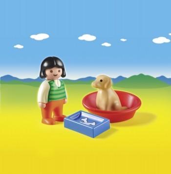 6796_Girl with Dog_scenery