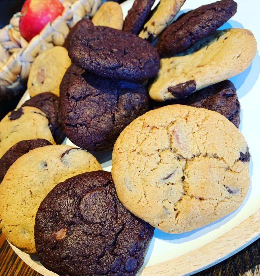 chocolate chip cookies, american cookies, småkakor recept