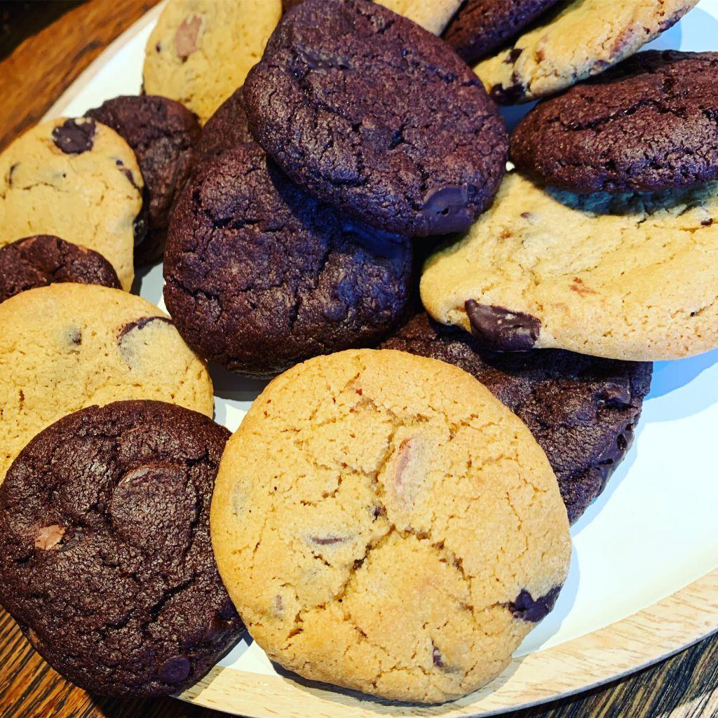 sega chocolate chip cookies, sega kakor, recept småkakor