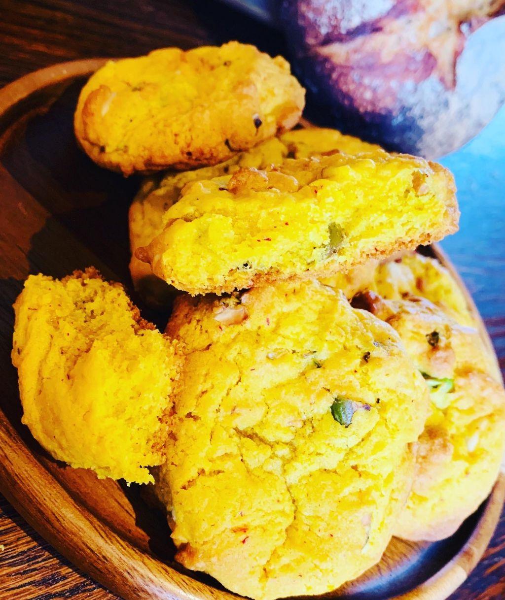 american cookies med vit choklad, kakor med pistagenötter, småkakor recept