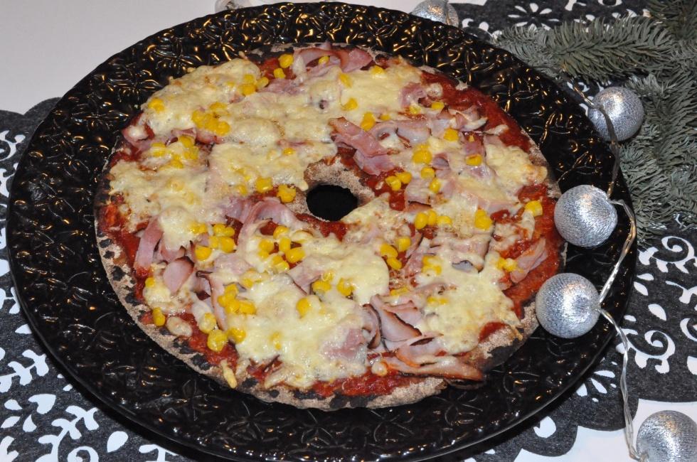 knäckebrödspizza