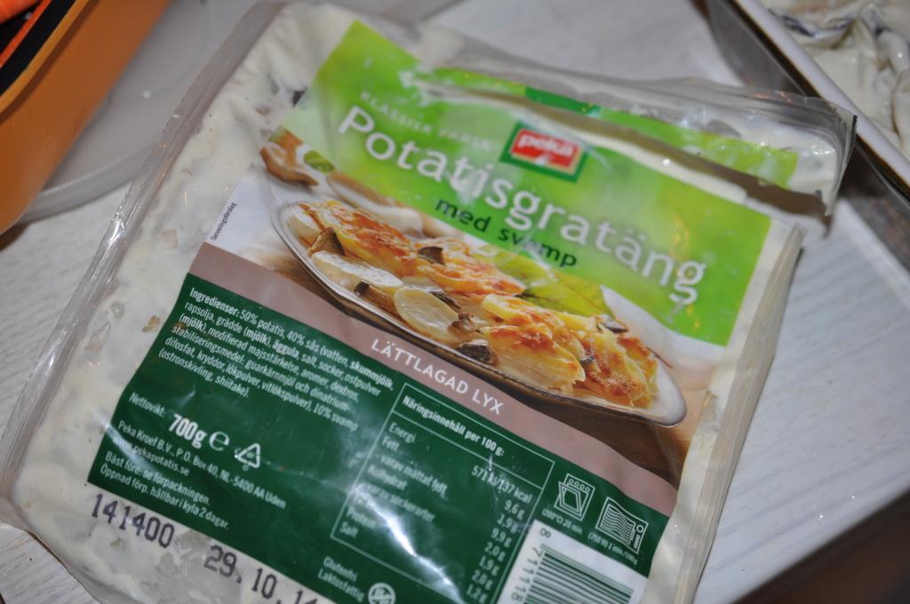 peka potatisgratäng gluten