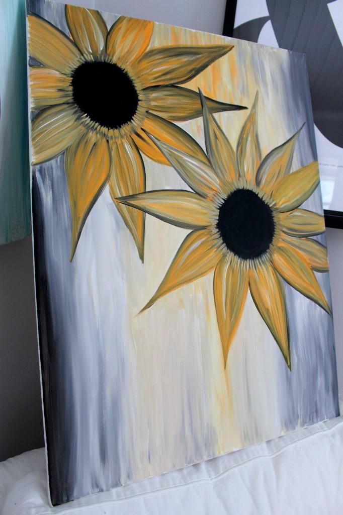 målning_solrosor_konst