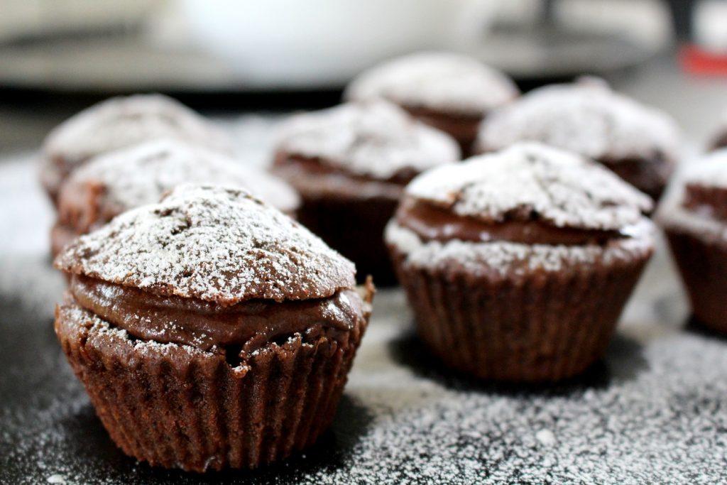 chokladmuffins vit choklad