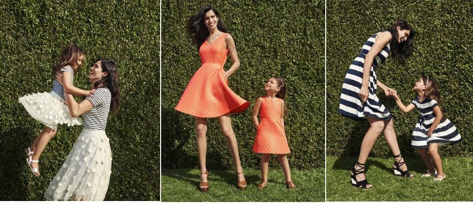 mamma dotter klänning