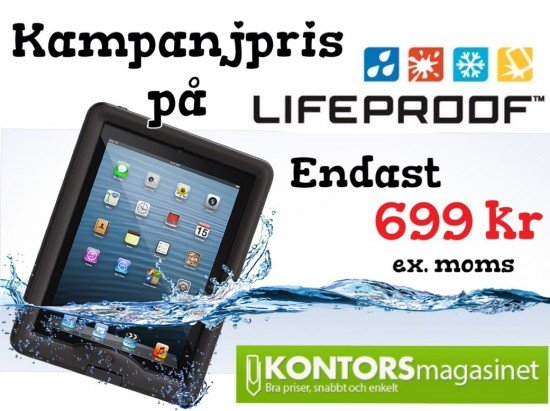 Lifeproof kontorsmagasinet billigt