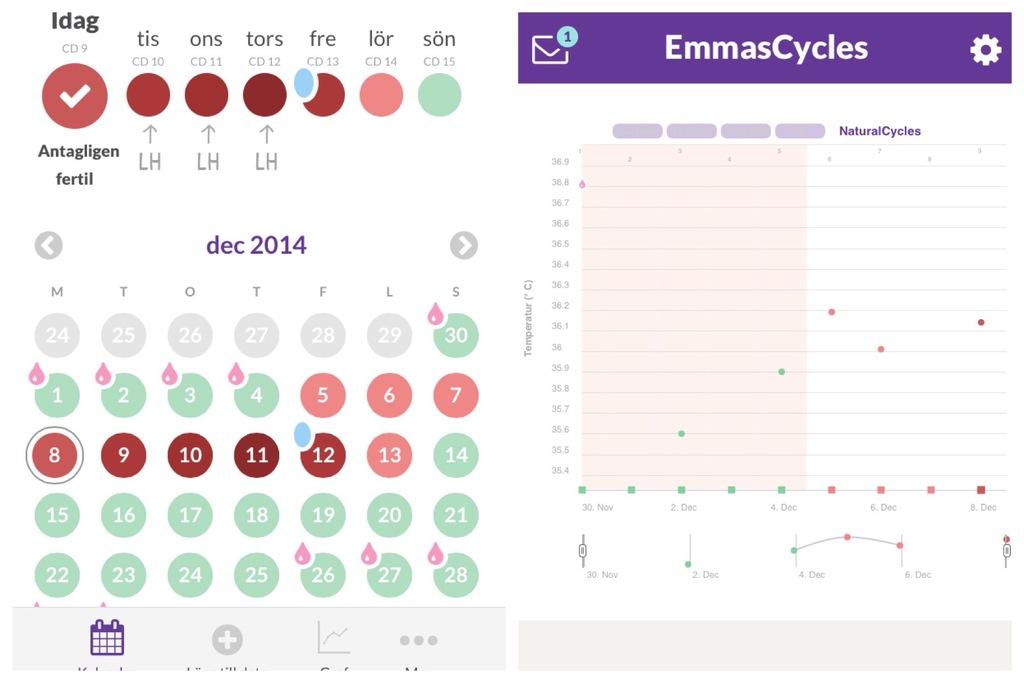 hur många dagar mellan ägglossning och mens