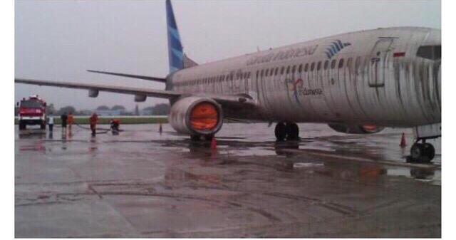 Vulkanutbrott stangde flygplats 1