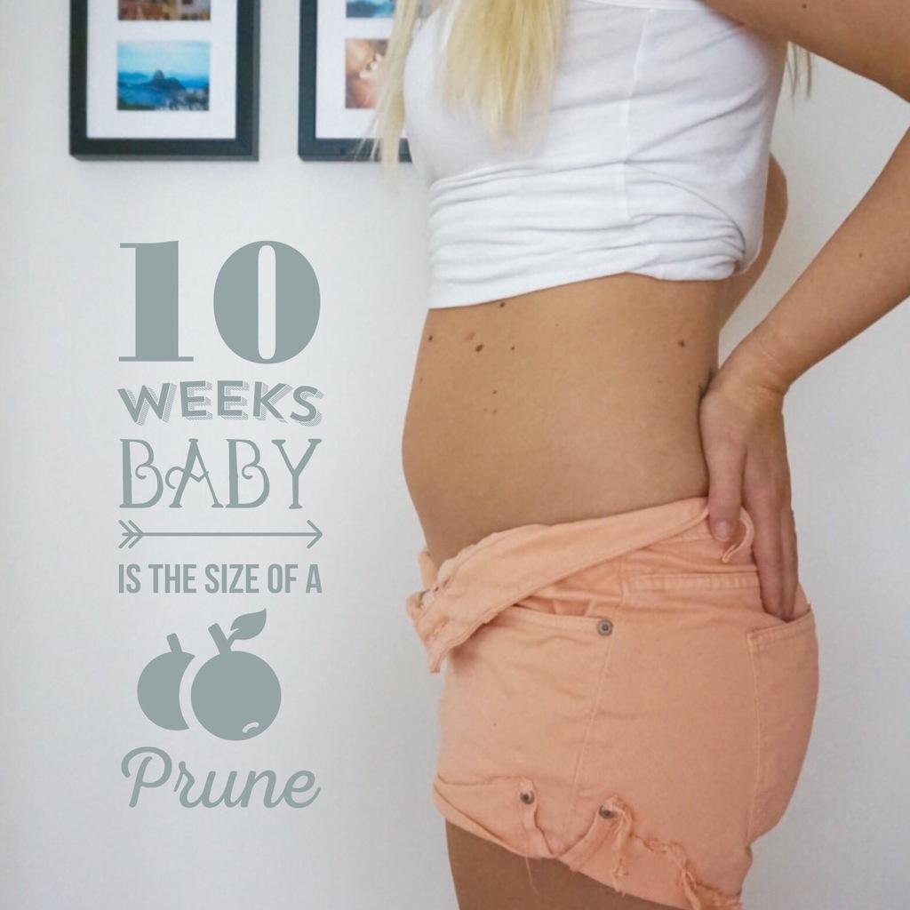 gravid vecka 10 mage