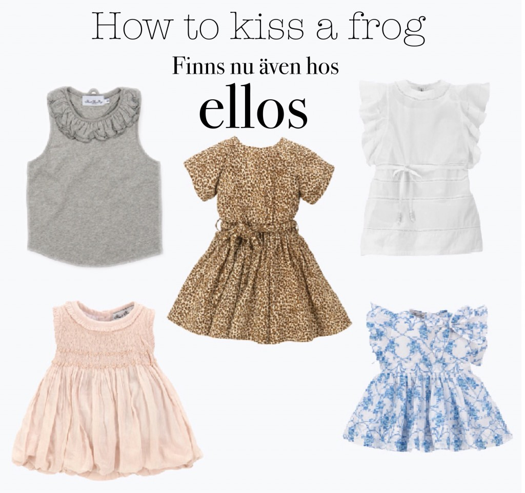 How to kiss a frog
