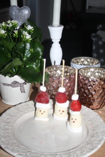 frukt med julmotiv