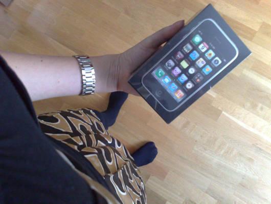 Min nya IPhone.