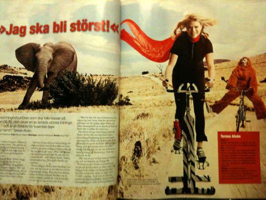 Fitness Magazine.