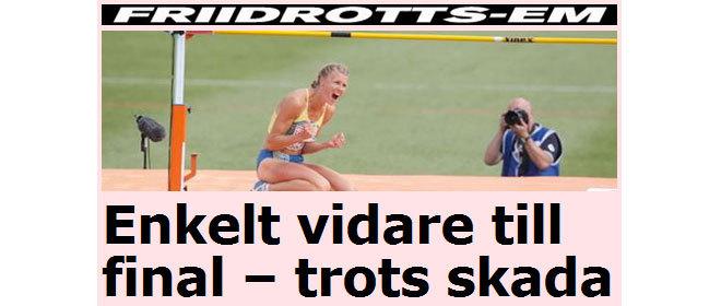 Skärmdump från Aftonbladet.