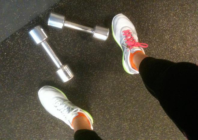 Träning gör mig stark och glad!