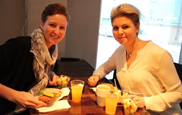 Linda Koski Wikström och Anna Lissjanis