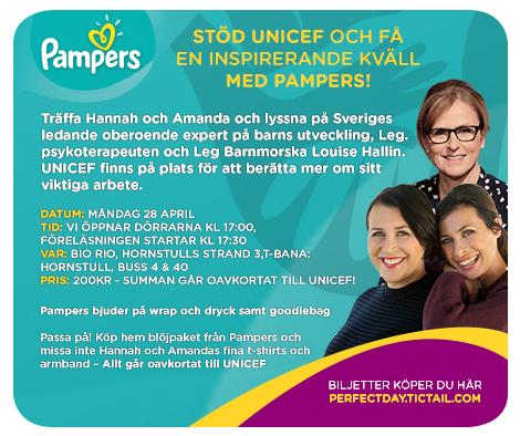 UNICEF och Pampers