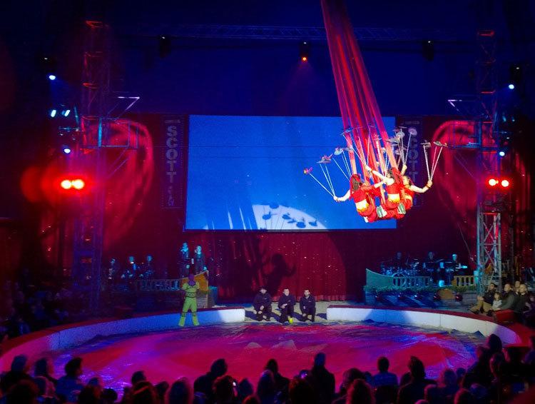 cirkus scott julshow