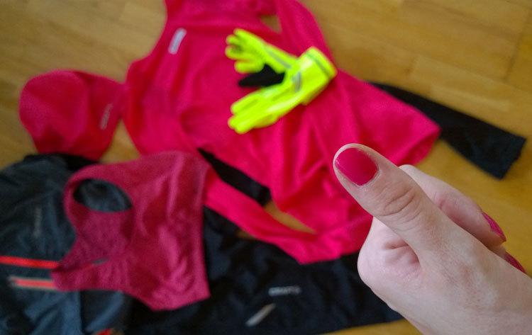 Träningskläder höstlöpning
