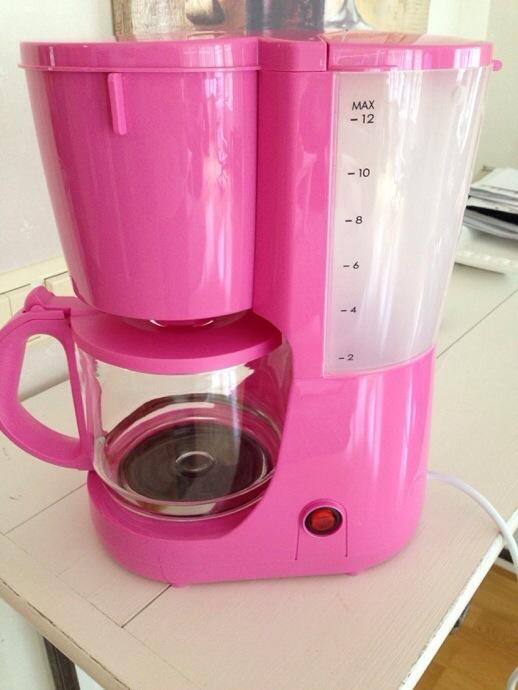 Rosa kaffebryggare | LillaLo