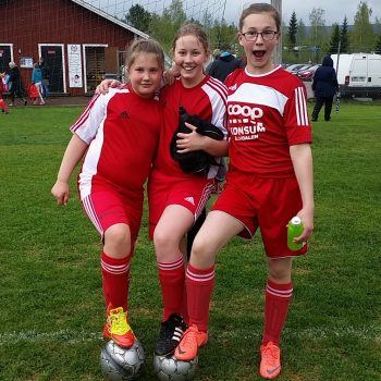 Fotbollsmatch Älvdalen - Leksand