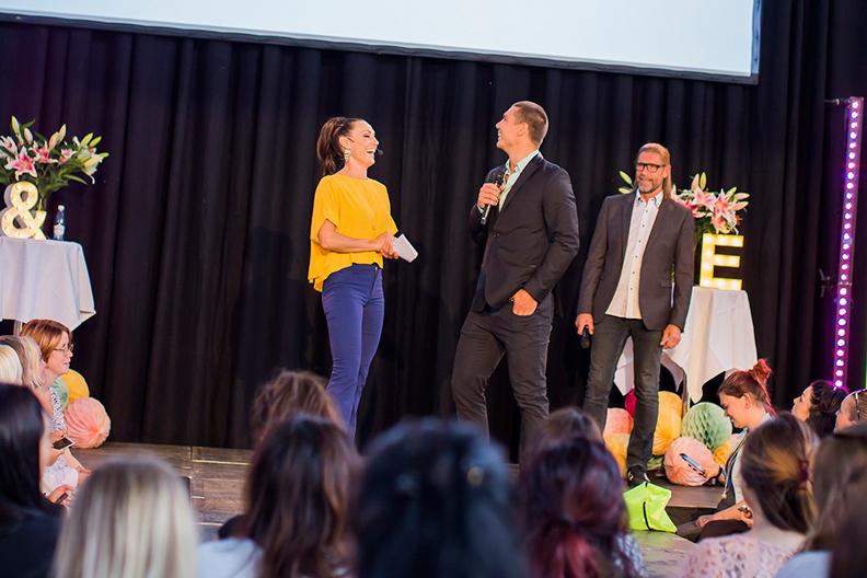 LOPPIevent Höststart 2015 - Lina Hedlund frågar ut Hugo Rosas på scen