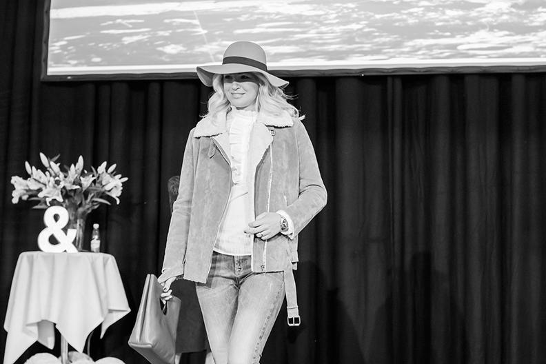 LOPPIevent Höststart 2015 - LOPPI:s toppbloggare Annika Duckmark går modevisningen