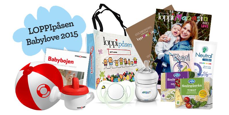 LOPPIpåsen Babylove 2015 - nu laddar vi för 2016 års upplaga