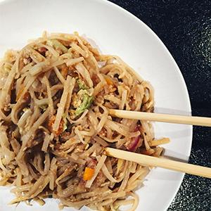 pad thai vegetarisk