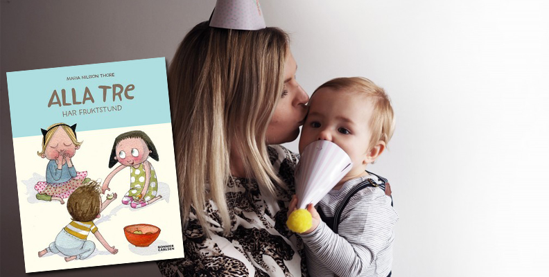 Angelica Lagergren tipsar om Alla tre har fruktstund