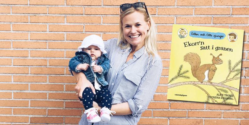 """Nina Malmström tipsar om """"Ellen och Olle""""-böckerna"""
