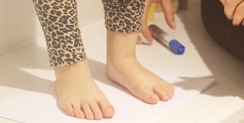f91fcde565e Mät barnens fötter - så gör du! - LOPPI.se