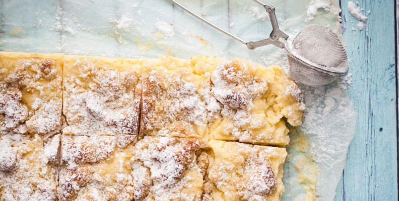 Vaniljrutor - en av alla goda påskdesserter